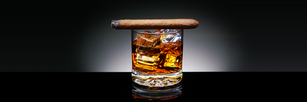 cigar-on-drink